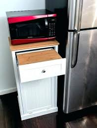 kitchen microwave cart carts cabinets corner black 60 with k