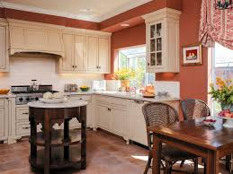 ... Terracotta tiles make their presence felt in the Victorian kitchen  [Design: CG&S Design-
