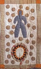 The Recognitions: Mrs. Harriet Powers, Bible Quilt (reproduction ... & Bible Quilt, Applique detail, 1885 - 1886. Made by Harriet Powers.  Smithsonian Adamdwight.com