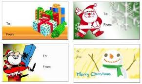 Christmas Gift Tags Collection  Great Set For Your Design Christmas Gift Tag Design