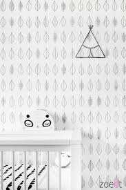 Mooi Behang Voor De Kinderkamer Of Babykamer Monochrome Behang
