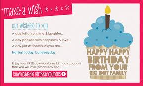 Downloadable Coupons Free Printables Make A Wish Birthday Coupons Big Dot Of Happiness