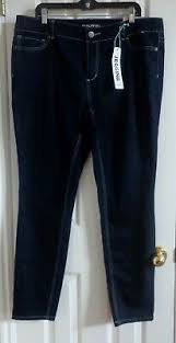 New Womens Maurices Skinny Jeggings Jeans Size 20 Dark Wash