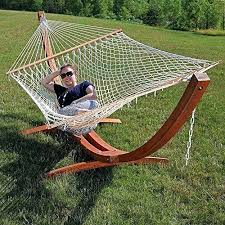 two person hammock with stand. Two Person Hammock With Stand Curved Ft Wooden White Rope 2 Double . T