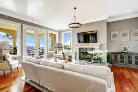 living room furniture tv corner. bright luxury living room with fireplace and tv corner decorated antique hood chairs stock furniture