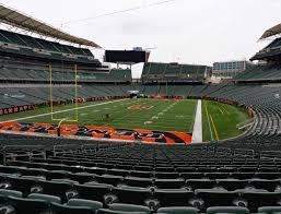 Paul Brown Stadium Section 151 Seat Views Seatgeek