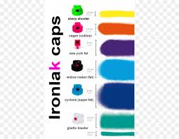 Ironlak Caps Chart Png Ironlak Paint Clipart Download 700