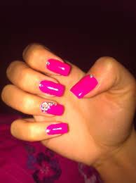 Nail Designs : Hot Pink Nail Art Designs Attractive Hot Pink Nail ...