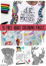 Just download one, open it in any pdf viewer and print. Printable Coloring Pages For Adults 15 Free Designs Everythingetsy Com