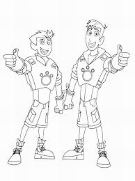 Wild Kratts Coloring Pages 19 11 Betweenpietyanddesirecom