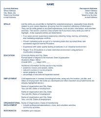 3 Different Resume Types For Nursing Jobs
