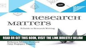 now the write stuff thinking through essays rd edition now research matters book