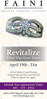 f a i n idesigns je w studiowelry revitalizewhat was once wornapril 19th 21stlet our national award winningdesigners