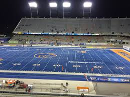 Bronco Stadium Section 107 Rateyourseats Com