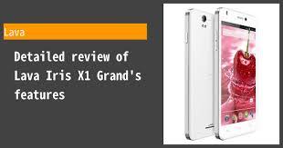 Lava Iris X1 Grand Review ...