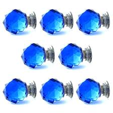 blue glass door knobs. Blue Glass Cabinet Knobs Free Shipping Sparkle Crystal Pull Drawer Handle Kitchen Door Dark B . Pulls Shabby By Uk