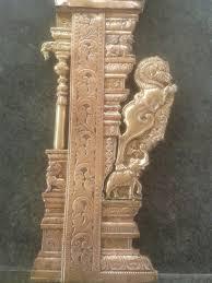 Thermocol Pillar Design Yall Pillar Tallado De Madera3 In 2019 Hindu Art