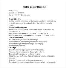 Resume Format For Doctors Doctor Best Cv Download Mmventures Co