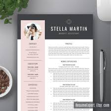 Resume Template Pinterest Modern Resume Template CV Template Cover Letter By ResumeExpert 15