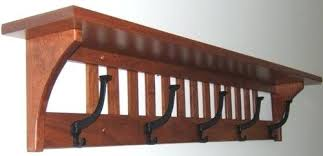 Wooden Wall Coat Racks Fascinating Coat Racks Wall Mounted Loanshunter