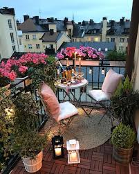 Inspiring balcony ideas small apartment Furniture Small Apartment Balcony Inspiration Images Via 123456789101112131415 Hey Its Julay Inspiration For Small Apartment Balconies In The City