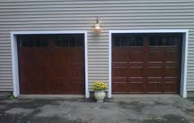 walnut garage doorsClopay Door Blog  Garage Door Makeover Results Revealed