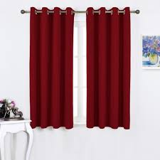 com nicetown burdy blackout curtains grommet thermal insulated solid grommet blackout panels ds for living room curtain gift