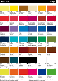 Vallejo Acrylic Artist Fluid Colours Clearance Priced