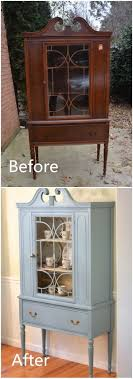 diy furniture makeover. Before \u0026 After: Thrifted China Cabinet Makeover Diy Furniture C