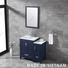 china small size solid wood single sink