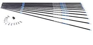Carbon Tech Arrow Chart Carbon Express Maxima Blu Rz Carbon Arrow Shaft With Red Zone Technology 12 Pack