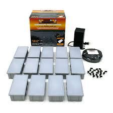 Kerr Lighting 14 Light Outdoor Paver Light Kit Outdoor