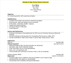 11+ High School Student Resume Templates - Pdf, Doc | Free & Premium ...