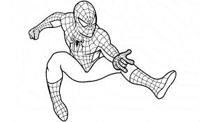 Spiderman Coloring Pages Paint BestAppsForKids Com Page - Chronicles ...