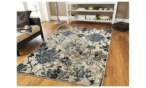 s distressed area rug safavieh sofia vintage blue beige