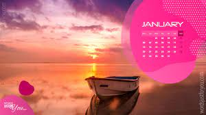 January Desktop Calendar Wallpaper ...