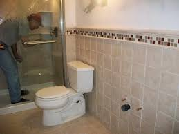Drawing Attention Man Is Fixing Something Simple Bathroom Tile Designs For Small  Bathrooms White Closet