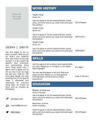 Simple Resume Templates Word Classy Simple Resume Format In Word Bunch Ideas Of Free Template Mac Best