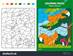 Small Picture Forest Animal Coloring Pages Printable Flying Squirrel Coloring