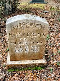 Nancy Eliza Black Padgett (1863-1921) - Find A Grave Memorial
