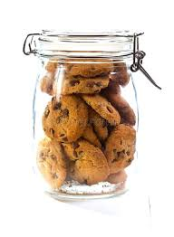 large glass cookie jars chocolate cookies in a glass jar stock image image of stacked large glass cookie jars