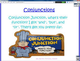 Conjunction Chart Conjunctions Flip Chart Ms Winegars Portfolio