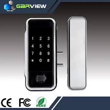 sliding glass door electronic lock