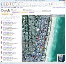 google maps miami beach google map foreclosure tricks the big