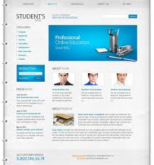 Free Website Templates Free Education Website Template 24