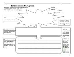 writing an introduction paragraph graphic organizer paragraph writing an introduction paragraph graphic organizer