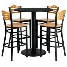 wood high top table furniture outdoor bar round designs exclusive inside tables and chairs