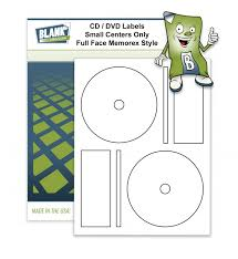 2 Cd Dvd Labels Per Page Small Centers Compatible With Memorex Full Face Style