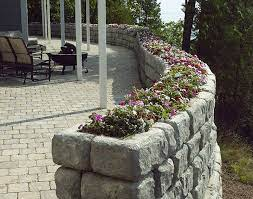 building a stone wall