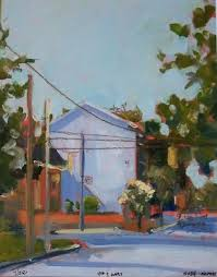 urban landscape plein air high quality print impressionist colorful affordable home decor wall decor office art inexpensive art street scene